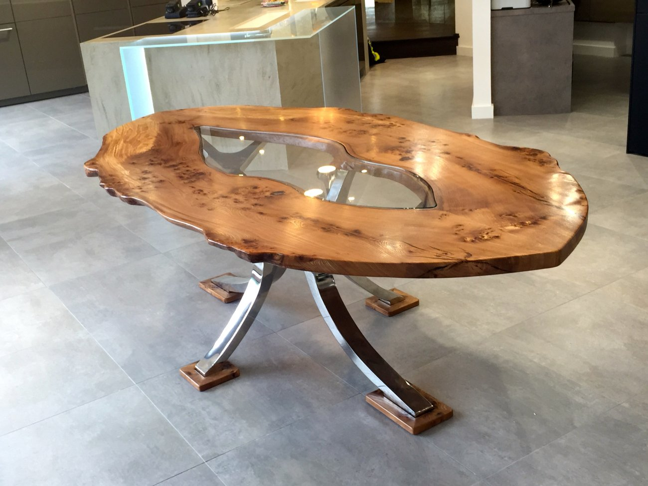 elm seed dining table